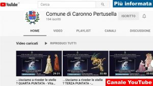 Canale Youtube Comunale