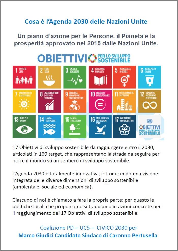 Cosa è Agenda 2030