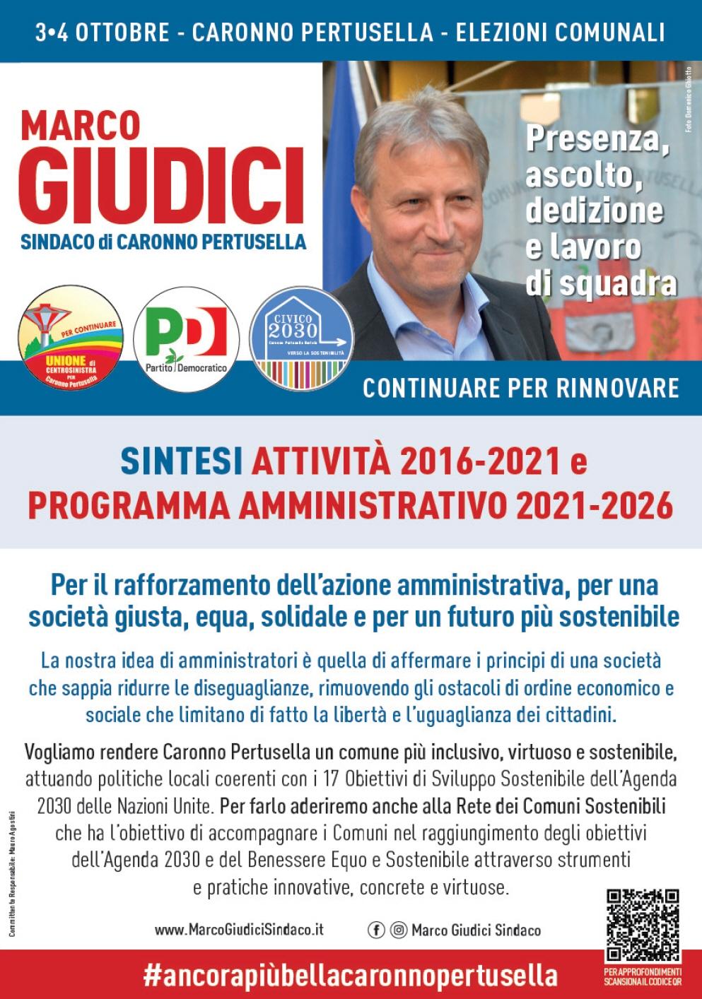 Sintesi Programma 2021-2026